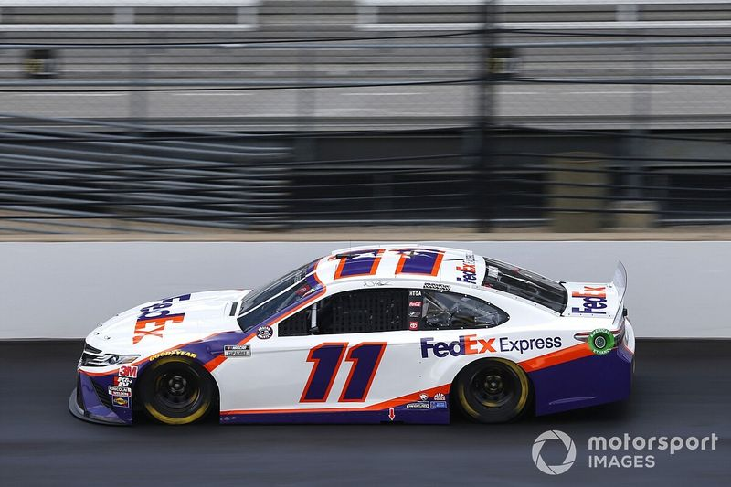 """Hamlin on Brickyard tire issue: """"You saw the end result"""""""