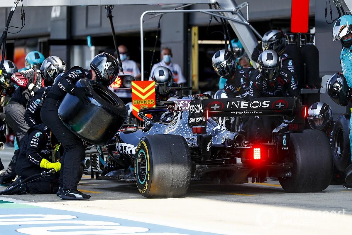 ハミルトン、苦戦の原因はタイヤの高い内圧?「タイヤがまるで風船のようだった」