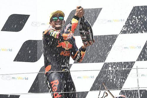 Moto2 - Austria: Terrible accidente de Syahrin; primera victoria de Jorge Martín (vídeo)