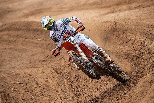 Jorge Prado se estrena en el podio de MXGP
