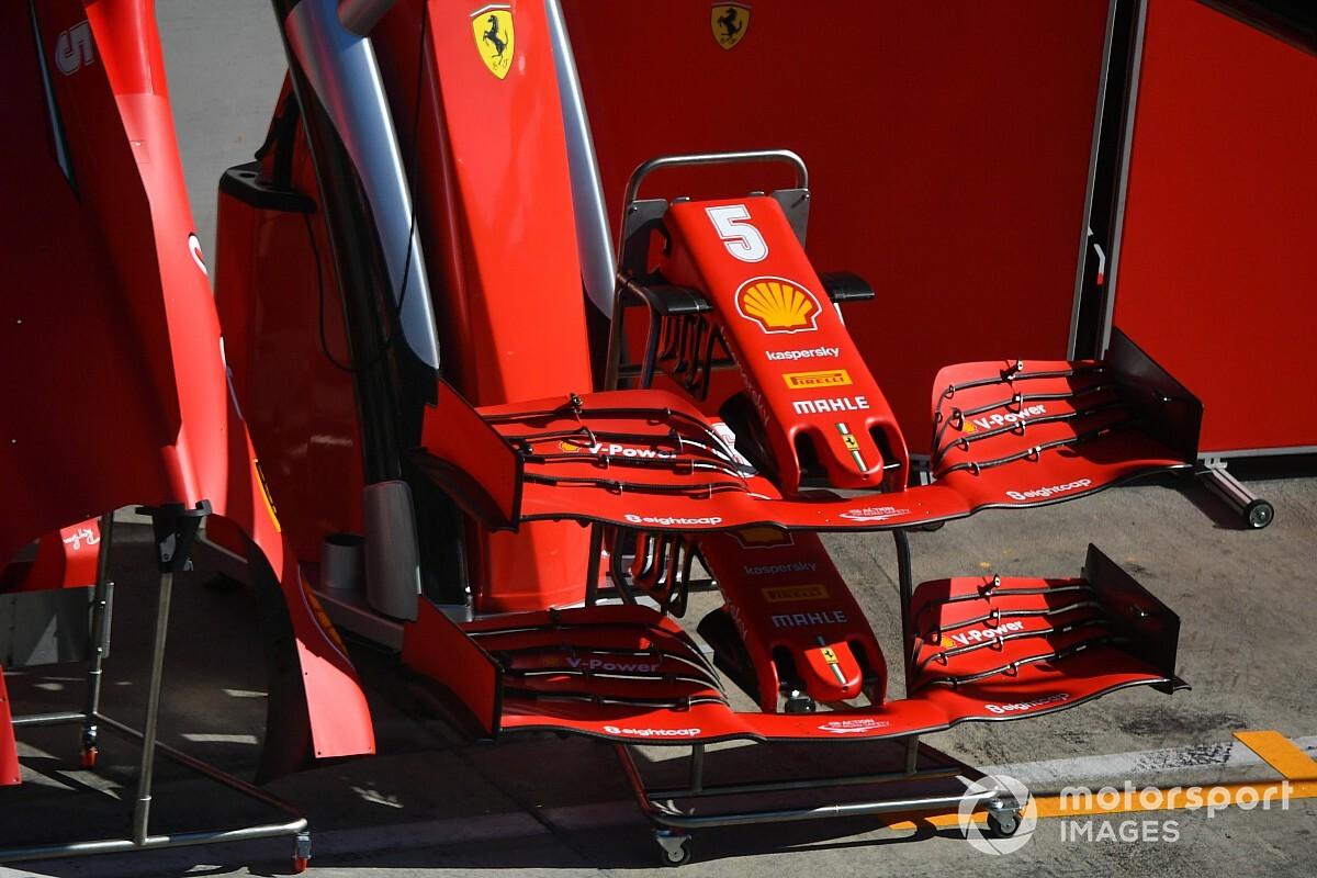 Ferrari привезла новое антикрыло на Гран При Штирии. Есть фотографии