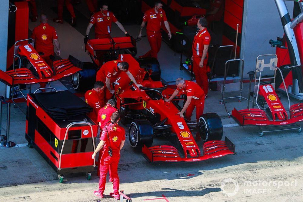 Estiria, una gran oportunidad para probar mejoras en el Ferrari