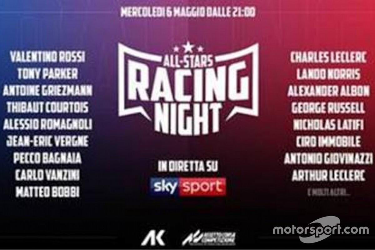 Valentino Rossi enfrentará a Charles Leclerc