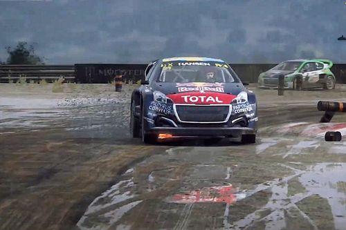 Supercars-coureur Van Gisbergen naar podium in WRX Esports-race