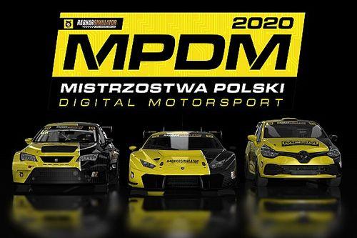 Startują Mistrzostwa Polski Digital Motorsport