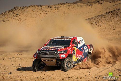 Dakar, Auto, Tappa 11: disperato assalto di Al-Attiyah