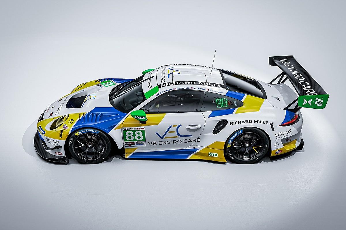 Daytona: c'è il rientro di Katherine Legge con la Porsche
