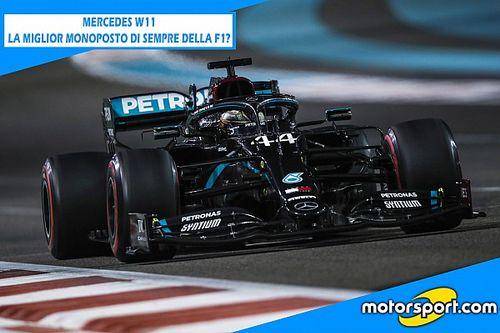 Mercedes W11: la miglior F1 di sempre?