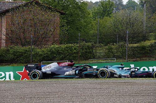 """Hamilton: """"Mi primer error en mucho tiempo, pero pude seguir"""""""