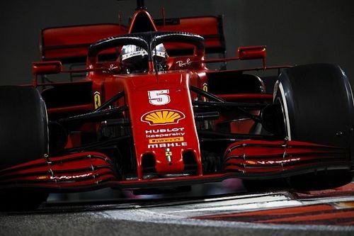 Vettel se despide de Ferrari con una canción al cruzar la meta