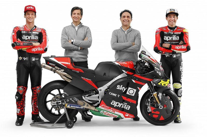 Aprilia heeft 'belangrijkste jaar' in de MotoGP voor de boeg