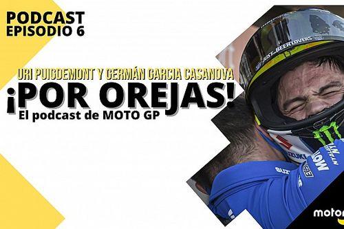 Podcast MotoGP 'Por Orejas': Varapalo a Iannone, adiós de Dovi, Mir roza el cielo