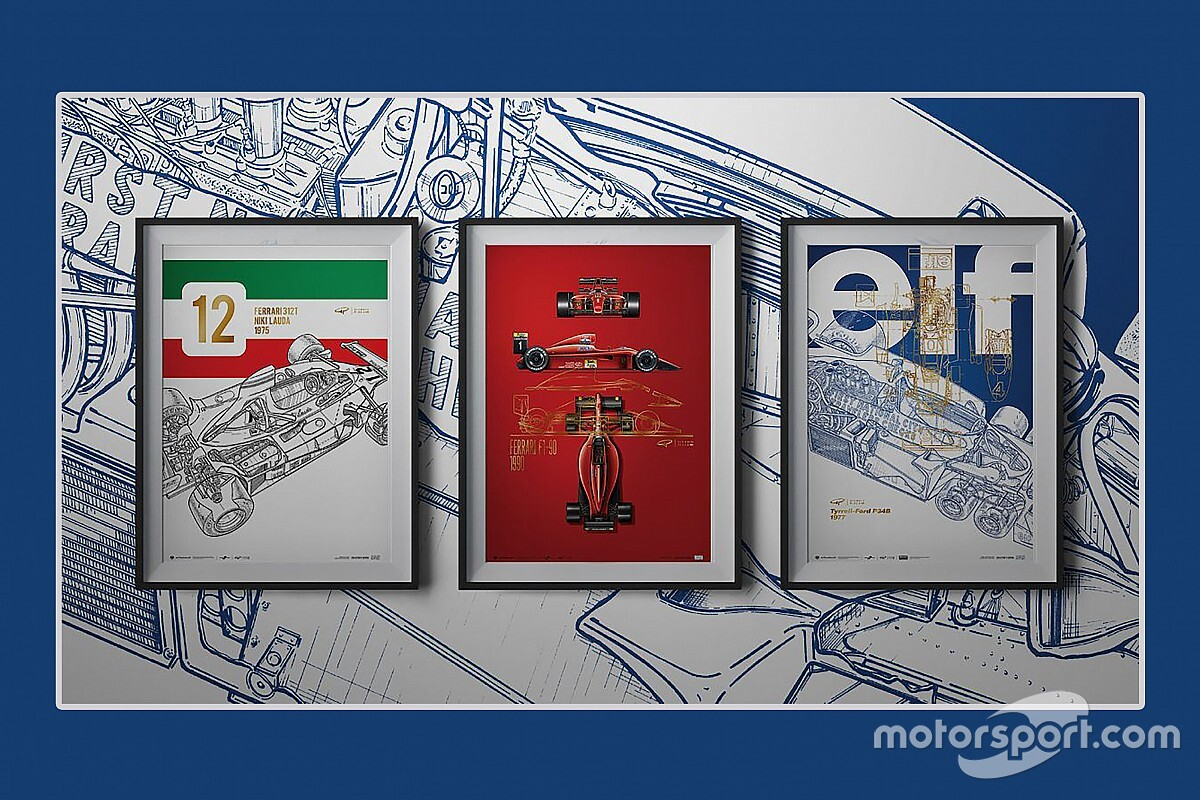 Giorgio Piola Releases Artwork Series Celebrating Formula One History