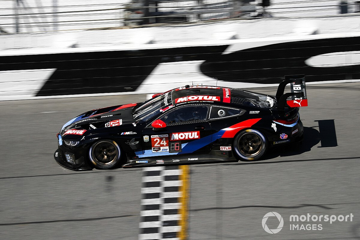 "BMW can be ""proud"" of third against Corvette - Wittmann"