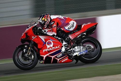 WK-stand na de MotoGP Grand Prix van Doha