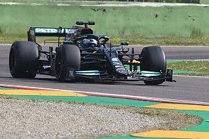 Bottas torna in pista a Imola con le Pirelli da 18
