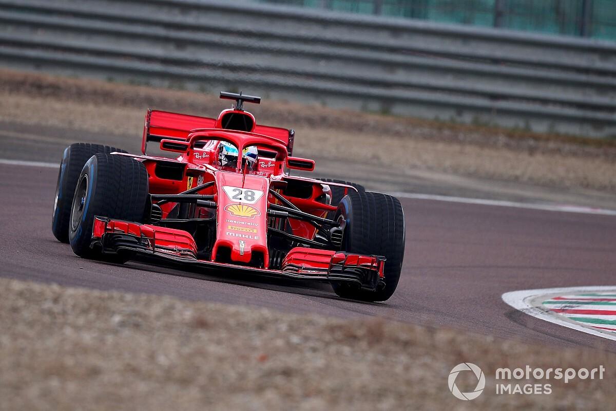 Ferrari'nin Fiorano testi başladı, Alesi piste çıktı
