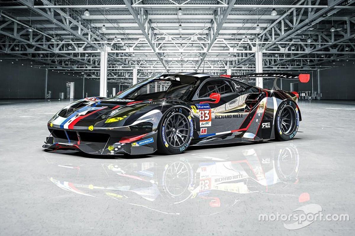 WEC: ecco la Ferrari cromata di Rovera per il 2021