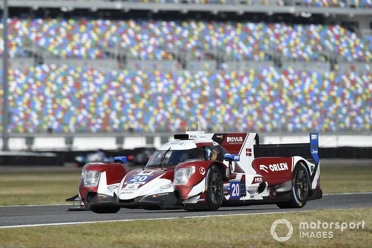 Kubica piąty w LMP2