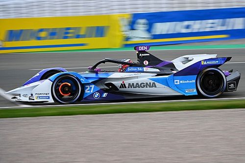 Valencia E-Prix: Dennis puts BMW on pole on drying track