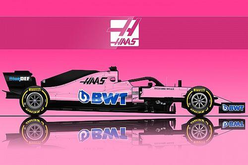 La livrée rose BWT renaîtra-t-elle chez Haas ou Williams?