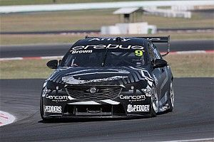 Brown tops Winton Supercars test