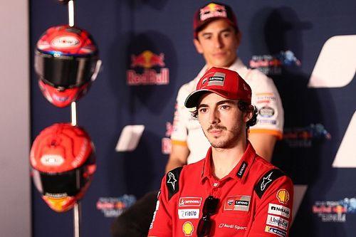 """Bagnaia: """"No me siento el líder de Ducati"""""""