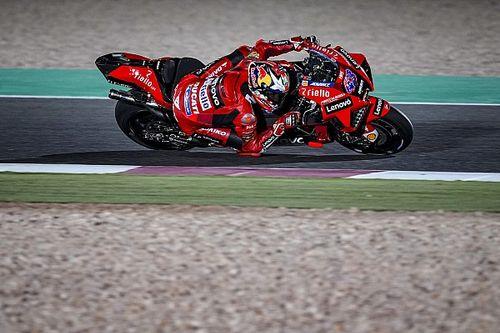 Miller lidera 1-2-3 de Ducati en la FP2 de Doha