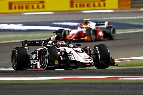 Lundgaard regains second place in Bahrain F2 sprint race
