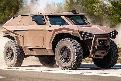 Arquus Scarabee, un vehículo militar híbrido de imponente aspecto