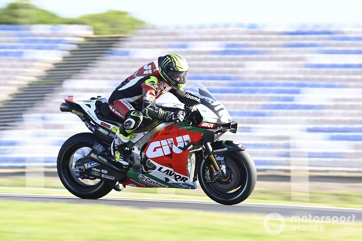 MotoGP, Portimao, Warm-Up: Crutchlow vuole lasciare il segno