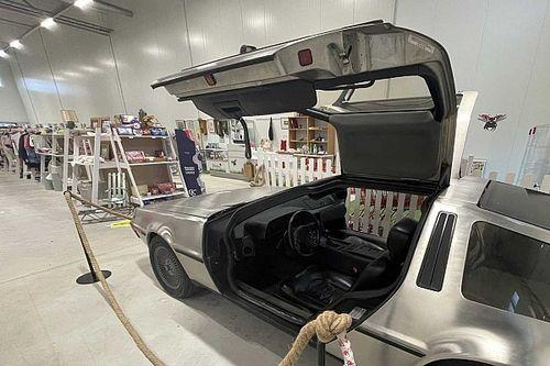 ¡Un DeLorean, a la venta en una tienda de segunda mano!