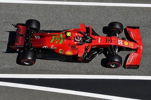 Ferrari aún sufre mucha degradación en carrera, señala Sainz