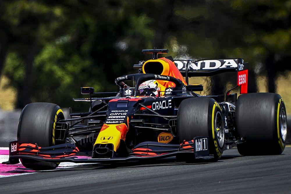 F1フランスFP3:フェルスタッペン、0.7秒の大差でトップ! 角田裕毅は12番手タイムが抹消され17番手