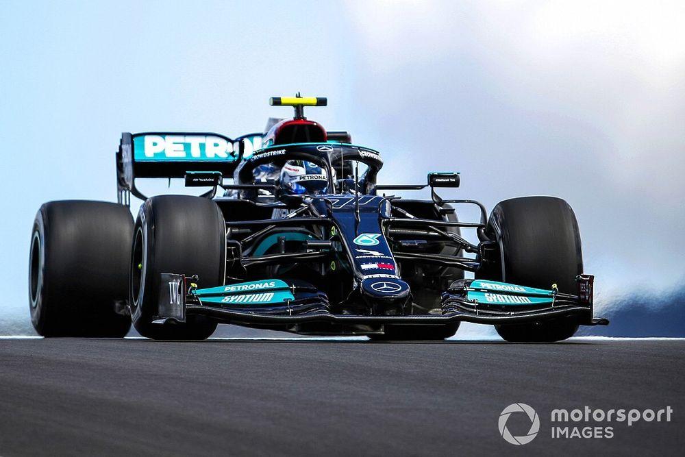 Ветер не дал Mercedes блеснуть на шинах Medium