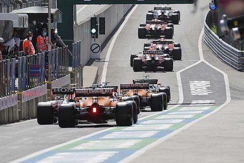 La parrilla de salida del GP de Austria de F1