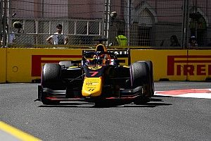 Baku F2: Lawson takes pole position ahead of team-mate Vips