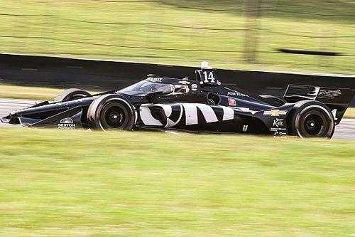 "Calderon ""had a blast"" in her first IndyCar test"
