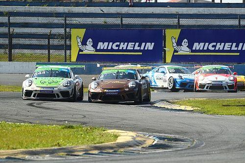 Veja como foram as corridas de domingo da Porsche Cup em Curitiba
