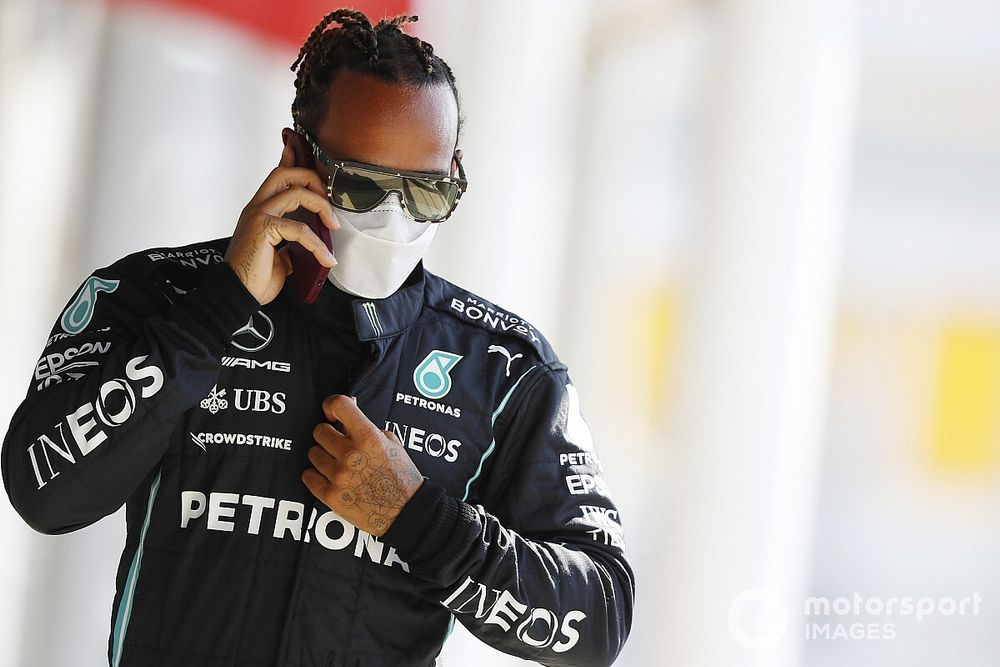 Hamilton Bisa Samai Rekor Schumi di F1 GP Spanyol