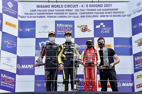 F4, Misano: Fornaroli centra il successo in Gara 1