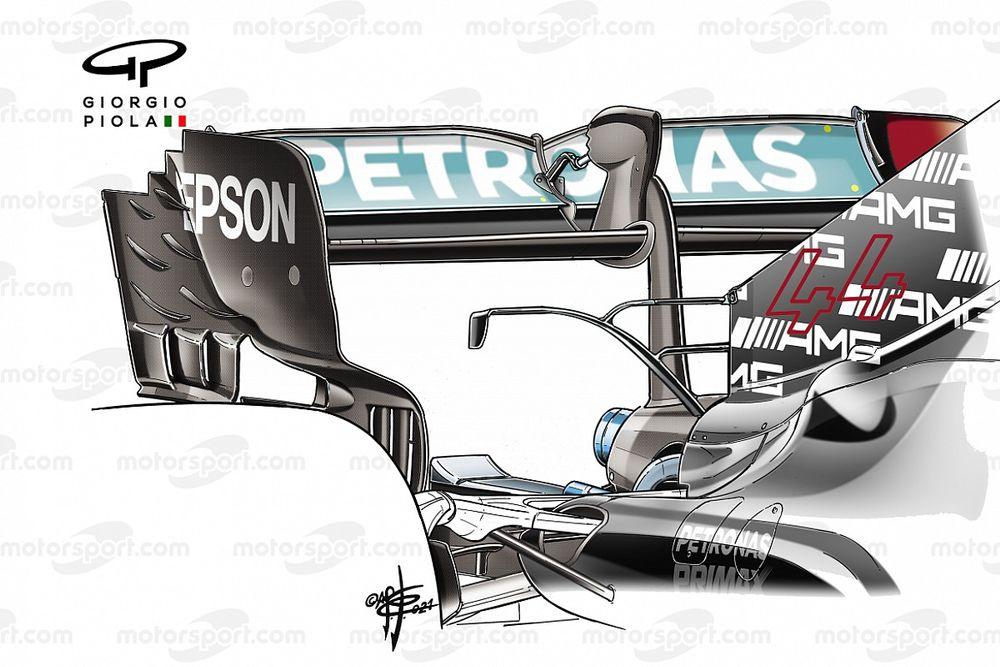 Технический брифинг: конфигурация Mercedes для Гран При Австрии