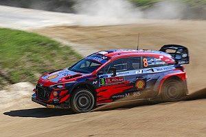WRC, Rally Portogallo, PS1: Tanak nella tripletta Hyundai