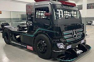 Equipe da Copa Truck incorpora layout da Mercedes na F1