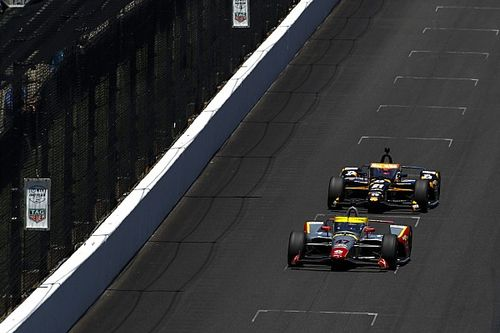 ECR's Indy 500 bid unravels after leading the most laps