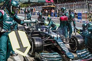 Aston Martin: 1 másodpercet vesztettünk a Mercedesszel együtt!