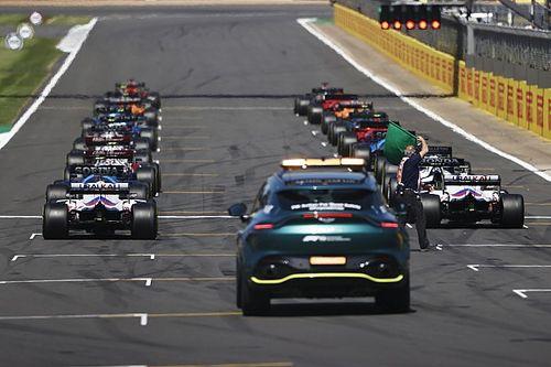 Grand Prix Wielkiej Brytanii: Okrążenie po okrążeniu - animacja