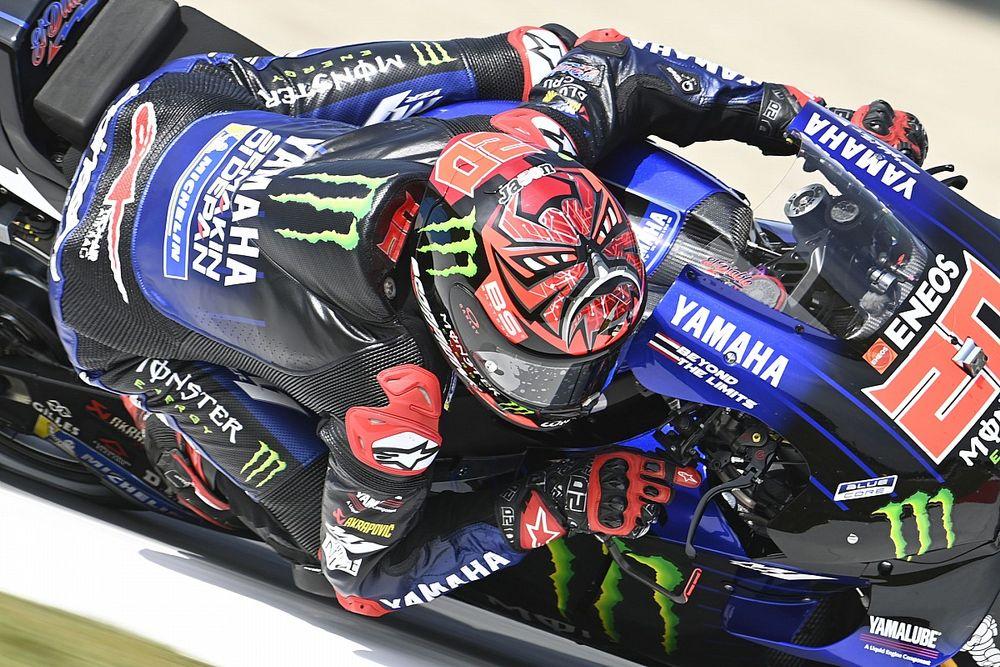 Assen MotoGP: Quartararo takes dominant victory ahead of Vinales in Yamaha 1-2