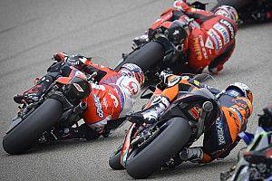 Положение в общем зачете MotoGP после гонки в Ассене