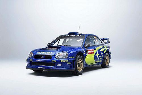 La Subaru Impreza S10 WRC '04 de Petter Solberg mise aux enchères